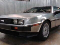 Машины главного героя фильма «Назад в будущее» продают на аукционе
