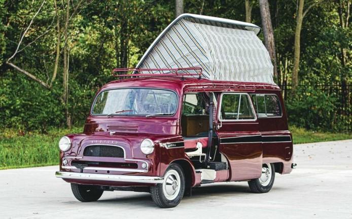 Bedford Dormobile, кемпер, ретро