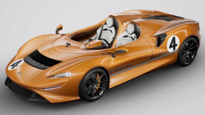 McLaren Elva, спидстер