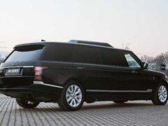 Внедорожник Range Rover «перековали» в пуленепробиваемый лимузин