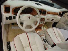 Продают редкую «Волгу» ГАЗ-3111 с салоном из кожи крокодила
