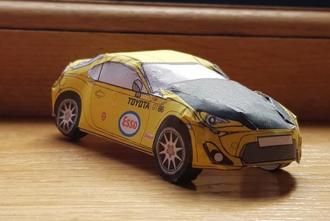 Toyota, бумажные GT86