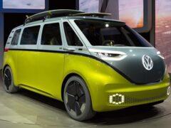 Volkswagen ID Buzz станет новым поколением Touran