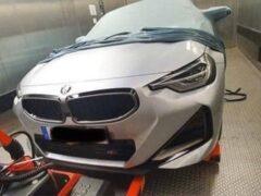 В Сети появились снимки нового купе BMW 2-Serie