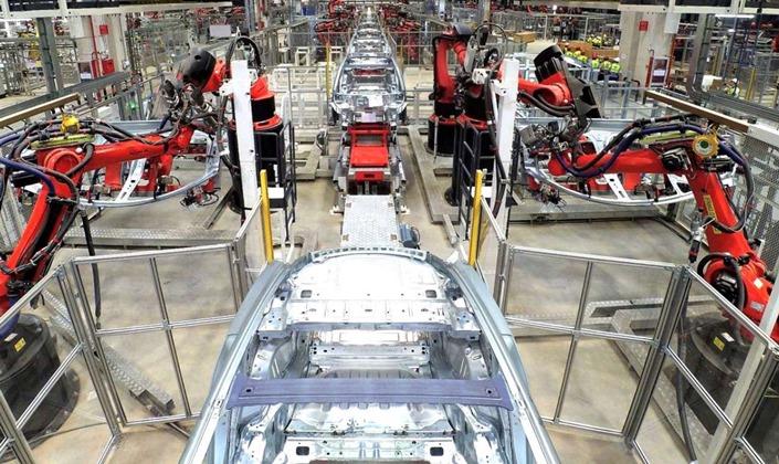 Tesla, завод, Китай