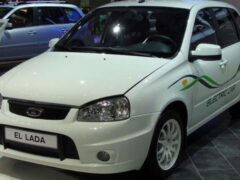 В Сети рассказали о самом первом российском электромобиле Lada Ellada