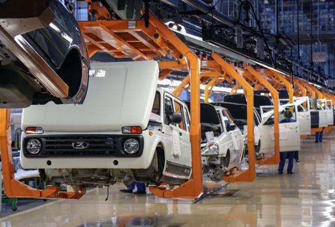 авто, производство, конвейер