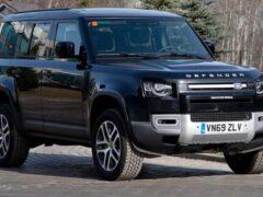 Новый Land Rover Defender вышел на испытания в России