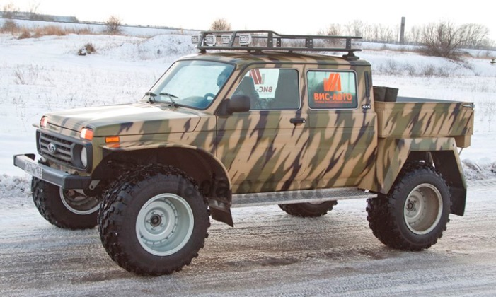 Lada 4x4, пикап, внедорожник