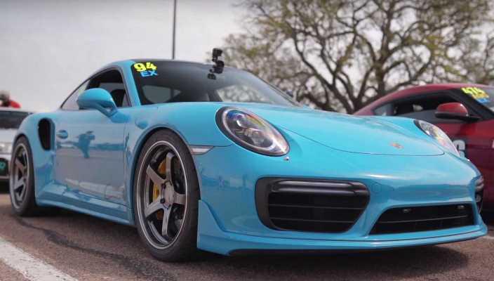 Porsche 911 Turbo S, модернизация