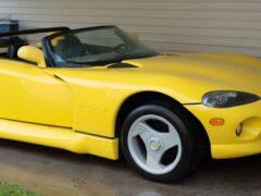 Гибрид Dodge Viper и Chevrolet Corvette продают за 600 000 рублей