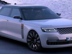 Российский дизайнер превратил Range Rover в представительский седан