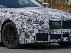 Новый BMW M4 получит механическую коробку передач