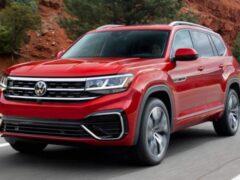 """Volkswagen Teramont готовит к дебюту """"агрессивную"""" версию R-Line"""