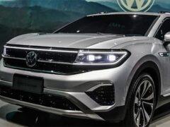 Volkswagen начинает производство кроссовера больше Teramont
