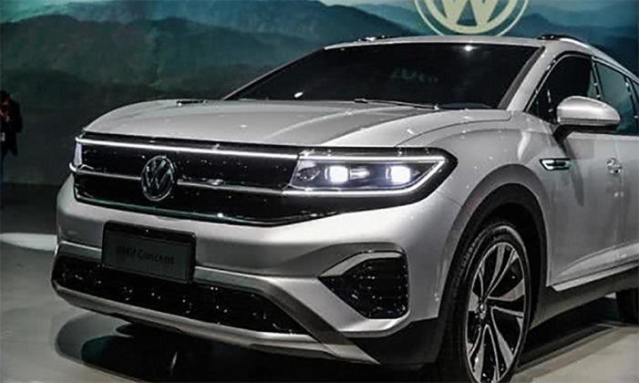 Volkswagen, новый кроссовер, большой