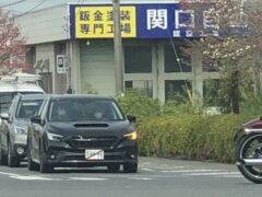 Subaru Levorg новой генерации замечен на тестах в Японии
