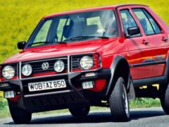 В Сети появились первые изображения нового Volkswagen Golf Country