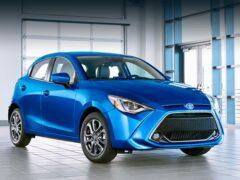 Самым популярным автомобилем в Японии стал Toyota Yaris