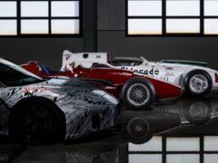 Новый суперкар Maserati раскрасили в честь Стирлинга Мосса
