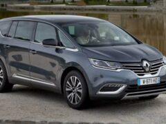 Renault снимет с производства минивэн Renault Espace
