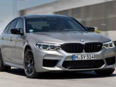 Новый BMW M5 станет 1000-сильным электрокаром