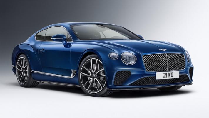 Bentley, новый заводской обвес