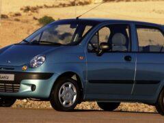 Daewoo Matiz назван самой популярной малолитражкой в России