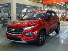Модельный ряд Chevrolet пополнился китайским кроссовером