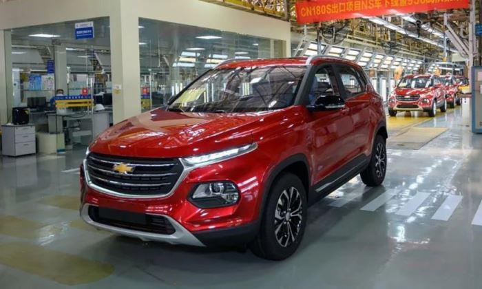 Chevrolet, новый кроссовер