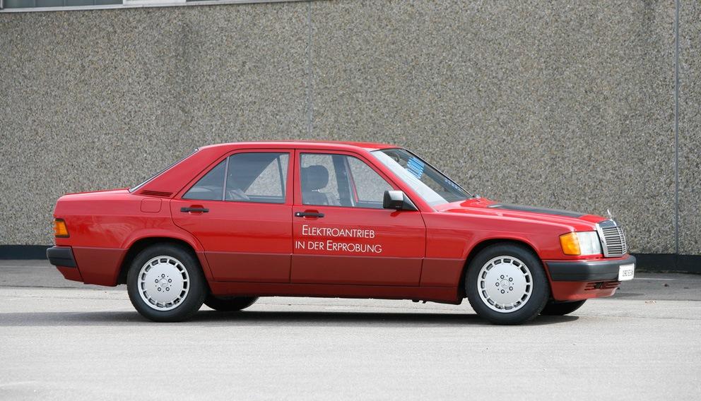 Mercedes 190E Electro