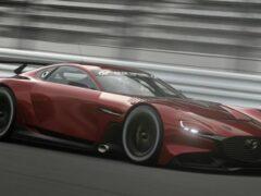 На видео показали виртуальный спорткар Mazda RX-Vision GT3