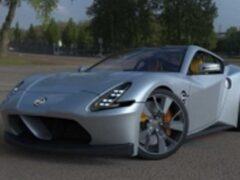 Появились новые рендеры спорткара Nissan 400Z