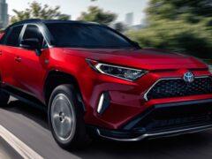 Toyota запустила продажи самого мощного RAV4 Prime