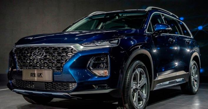 Hyundai Santa Fe, новый