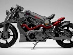 Для России выпустили спецверсию мотоцикла от Curtiss