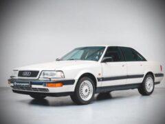 На продажу выставили практически новый Audi V8 1990 года