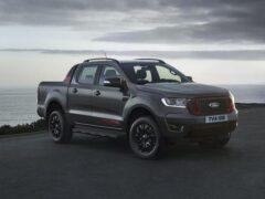Пикап Ford Ranger получил «мрачную» спецверсию