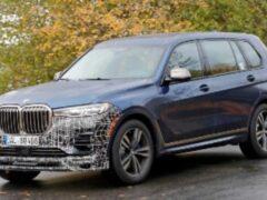 BMW X7 от Alpina представят 19 мая