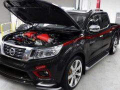 1000-сильный агрегат получит пикап Nissan Navara