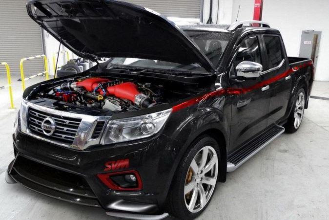 Nissan Navara, пикап, 1000-сильный мотор