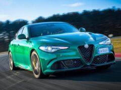 Компания Alfa Romeo обновила Giulia и Stelvio Quadrifoglio