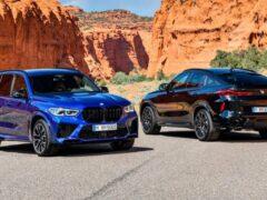 В России стартовали продажи самых мощных кроссоверов BMW