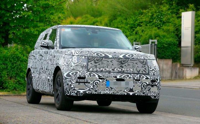 Range Rover, тест