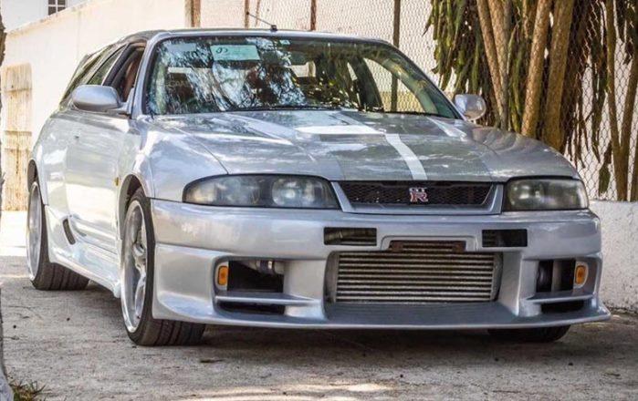 Nissan Skyline GT-R, универсал
