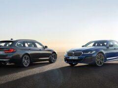 Новые BMW 5 серии и 6 серии GT предлагаются для заказа в РФ