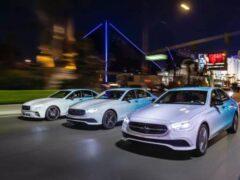 Автомобили Mercedes получат сенсорное рулевое колесо