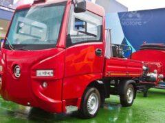 В России начались продажи электрогрузовика «Муравей»