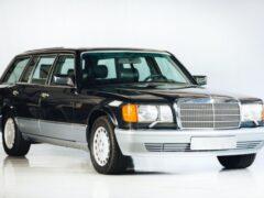На продажу выставлен редкий универсал Mercedes-Benz 560 TEL