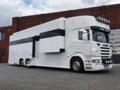 В Сети показали автодом на базе Scania с тремя спальнями